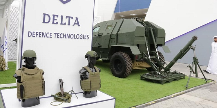 Georgian defence products presented in Abu Dhabi, at only
