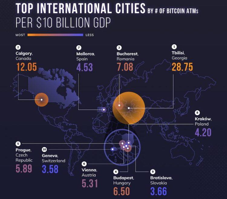 La Georgia ci crede ancora un sacco, nei Bitcoin