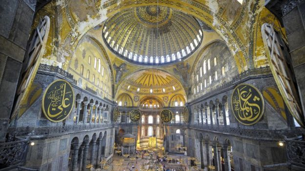 Hagia Sophia is one of the most visited sites in Turkey