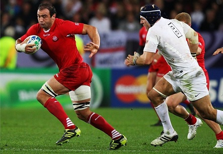 Georgian Captain Mamuka Gorze Is A Player To Watch At The 2016 Rugby World Cup Photo By Www Rugbyworldcup Com
