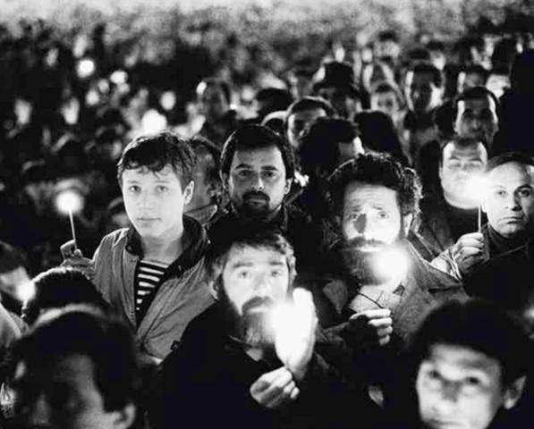 Demonstrators On April 9 1989