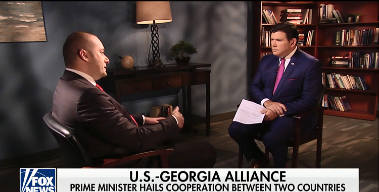 Georgian Pm Tells Fox News That Georgia Us Relations Are At