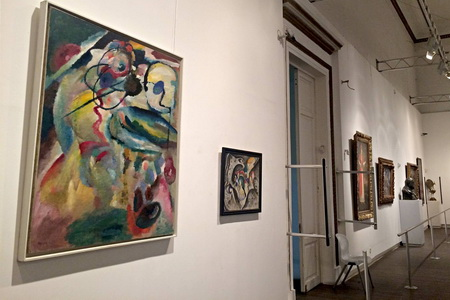 see major paintings by wassily kandinsky at tbilisi s fine arts museum