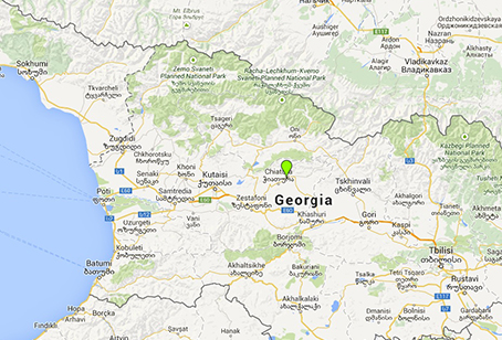 Map Of Georgia Showing Cities.Five Georgian Cities Added To Google Maps In 2015