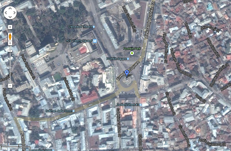 Maps 2015.Tbilisi Completely Added To Google Maps By 2015