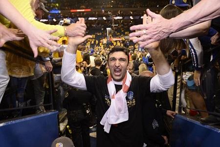b94537a6f Golden State Warriors devote documentary to Zaza Pachulia s return to  Georgia after winning NBA championship