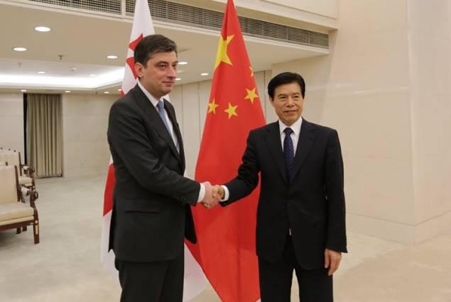 Georgia China Sign Historic Free Trade Agreement Agenda