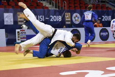 Georgian judokas claim three gold medals, lead Abu Dhabi