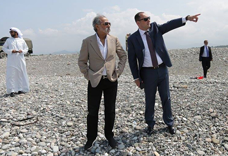 Arab Sheikh explores investment potential of Georgia's Gonio