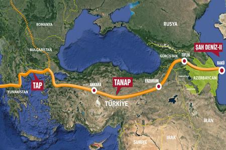 TANAP natural gas pipeline via Georgia opens on June 12