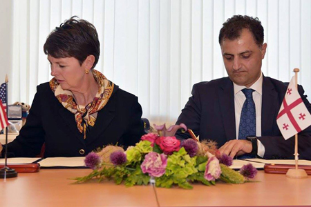 Georgia Us Sign Deal On Mutual Assistance Between Customs