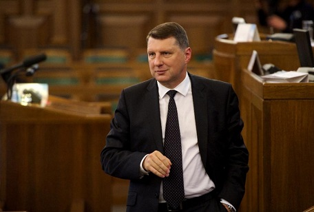 Georgian high officials have congratulated Raimonds Vejonis on being  elected as the new President of Latvia. Photo by AFP Ilmars Znotins. 7fc23ef4b8e