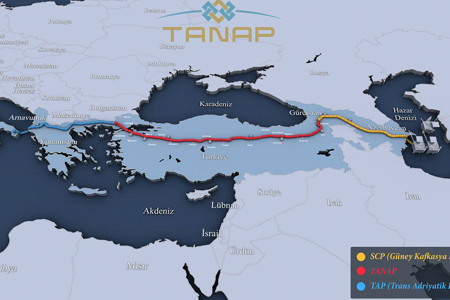TANAP natural gas pipeline via Georgia opens today