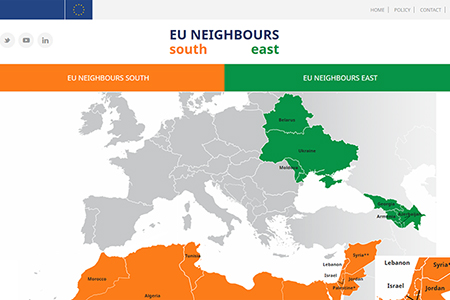 Map Of Georgia Eu.Learn About Eu Georgia Cooperation Through New Portal