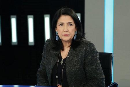 salome zurabishvili-ის სურათის შედეგი