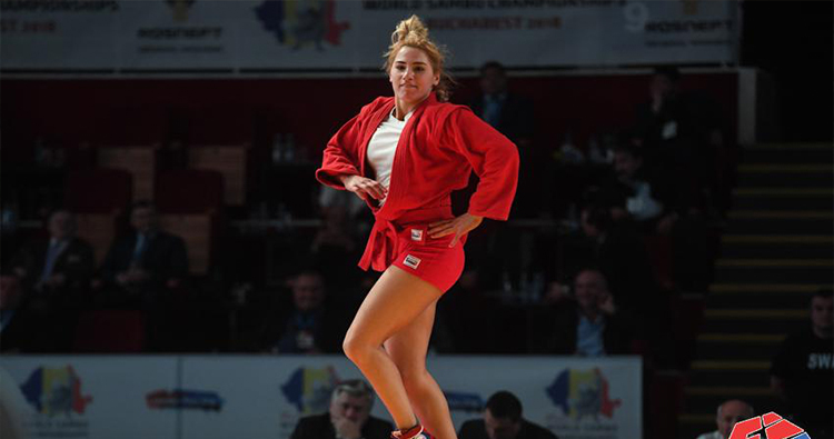 Georgian athlete Nino Odzelashvili wins gold at World Sambo ...